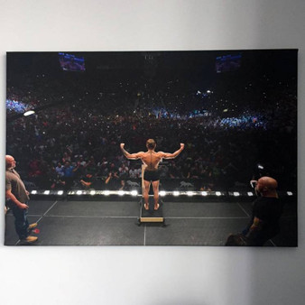 Conor McGregor KiSS Poster or Canvas - The Notorious - MMA Fight - Ireland - Wall Art - Sports Decor - Las Vegas - Christmas Present Idea Sports Fan