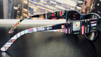 Cassettes, VHS, Atari KiSS Sunglasses - Retro - Video Tapes, 80s 90s - Handmade Unique - Gift Idea Festival