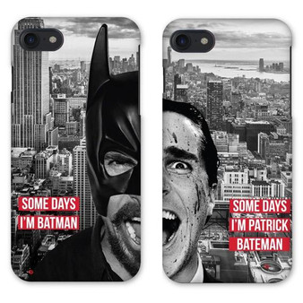 Batman/Patrick Bateman KiSS Phone Cases - His and Hers Christian Bale - Matching Couple
