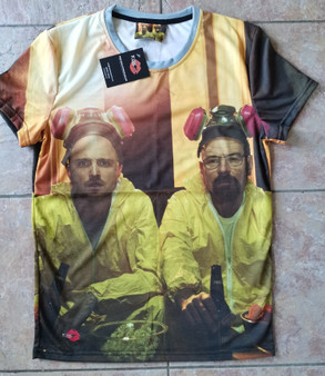 Bad KiSS All Over T-Shirt - Breaking Bad TV Show inspired - Jesse Pinkman - Walter White - Let's Cook - Meth - Gift Idea