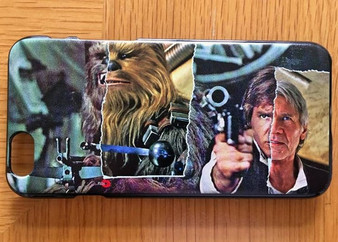 Chewy/Han KiSS Phone Case - Han Solo Chewbacca - Chewie - Star Wars inspired