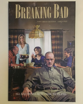 Breaking Bad Retro Style KiSS Canvas - TV Show inspired - Walter White, Jesse Pinkman