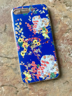 Romeo KiSS Phone Case - Japanese Flowers Floral - Leonardo DiCaprio inspired Juliet