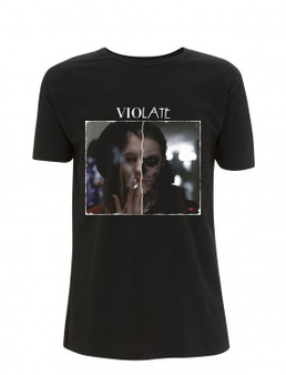 AHS ViolATE KiSS T-Shirt - American Horror Story tv show inspired - Tate Langton Violet Dark