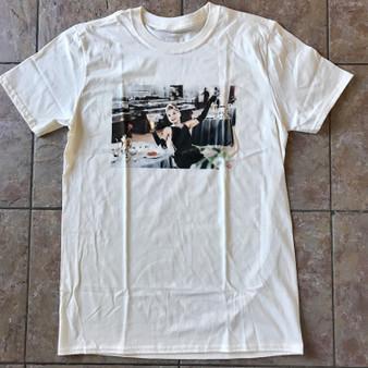 Audrey KiSS T-Shirt - Hepburn - Hollywood - Beer - Breakfast at Tiffany's Film
