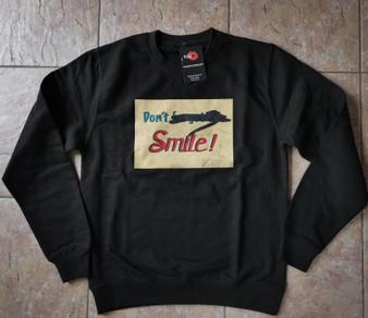 Don't Forget To Smile KiSS Sweatshirt - Joker - Joaquin Phoenix - Aluminium Wall Art - Replica Movie Inspired