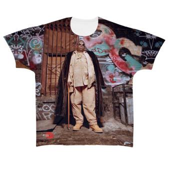 Biggie KiSS All Over T-Shirt - Notorious BIG - Graffiti - 90s iconic - Music Rapper