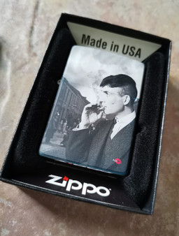 Tommy ZIPPO® KiSS Lighter - Peaky Blinders - Shelby Gang - Cillian Murphy Smoking TV Show Gift