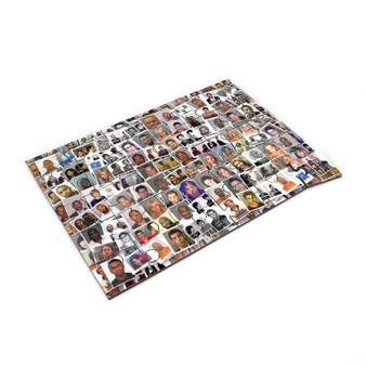 Celebrity Mugshots KiSS Jigsaw Puzzle - Bieber McGregor Lohan Tyson Arrest - Unique Home Gift Idea