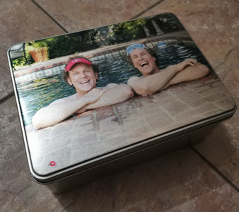 Step Brothers KiSS Jigsaw Puzzle - Will Ferrell John C Reilly funny - Gift Movie fan - shark week