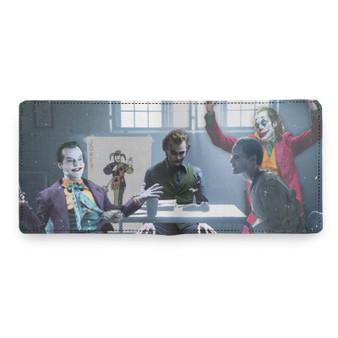 NEW: 4 Jokers Meeting KiSS Wallet - Heath Ledger - Edit - Jack Nicholson Jared Leto Joaquin Pheonix Dark Knight - Present - Joker