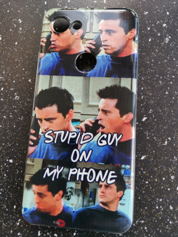 Joey Friends KiSS Phone Case - TV Show - Stupid Guy on My Phone - Season 8 - Matt Le Blanc