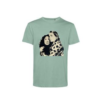 Killing Eve Stencil KiSS T-Shirt - Villanelle Original Art Sorry Baby Inspired - Jodie Comer Sandra Oh Tv Show - British Assassin - Black Comedy Dark Timeline