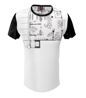 The Office Floor Plan KiSS All Over T-Shirt - Dunder Mifflin - Michael Scott - Jim Pam Dwight - Paper