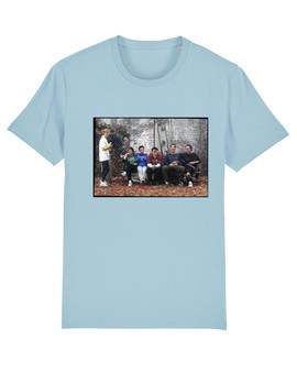 Friends Cast KiSS T-Shirt - Thanksgiving - Chandler, Phoebe, Monica, Ross, Rachel, Joey - Season 3 - Present Gift Idea