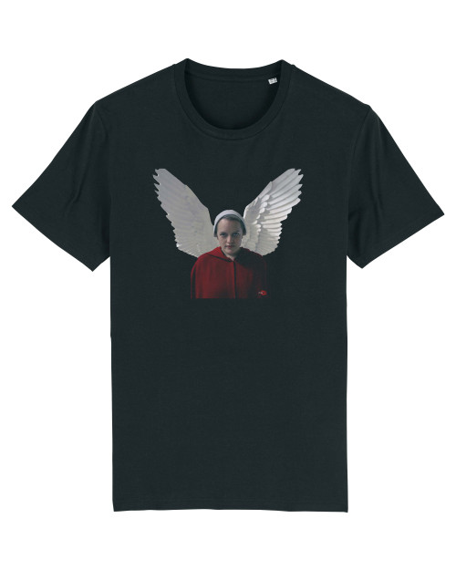 Handmaids Tale June Inspired KiSS T-Shirt - Wings, Gilead - Elisabeth Moss - TV Show Gift Idea Present