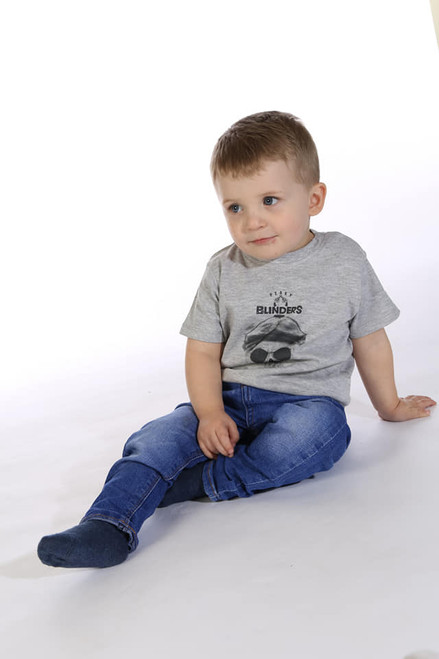 Peaky Skull KiSS KIDS T-Shirt - Tommy Shelby Blinders inspired - Cool Toddler Style - Skulls Matching