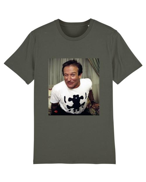 Robin Williams  KiSS T-Shirt - Wink - Movie Inspired - Actor - Film Fan - Gift Idea