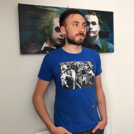 80's Hooligans KiSS T-Shirt - Football Hooligan Fight Offender - Retro - Gift For Him Sports