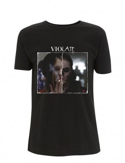 AHS ViolATE KiSS T-Shirt - American Horror Story tv show inspired - Tate Langton Violet Dark