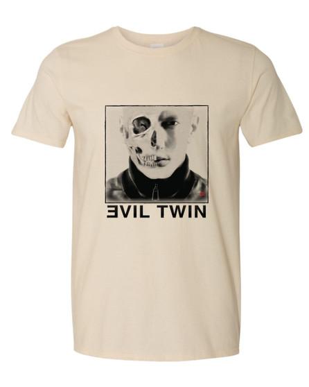 Evil Twin KiSS T-Shirt - Eminem inspired - Slim Shady - Marshall Mathers - Rap God - Music Rapper Skull