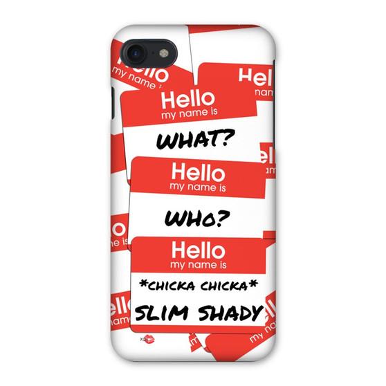 My Name Is.. KiSS Phone Case - Eminem inspired - Slim Shady - Marshall Mathers - Rap God - Music Rapper