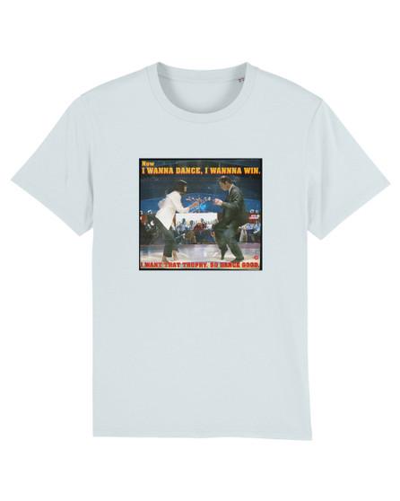 Pulp Fiction Dance KiSS T-Shirt - Movie inspired - Quote - Tarantino John Travolta Uma Thurman