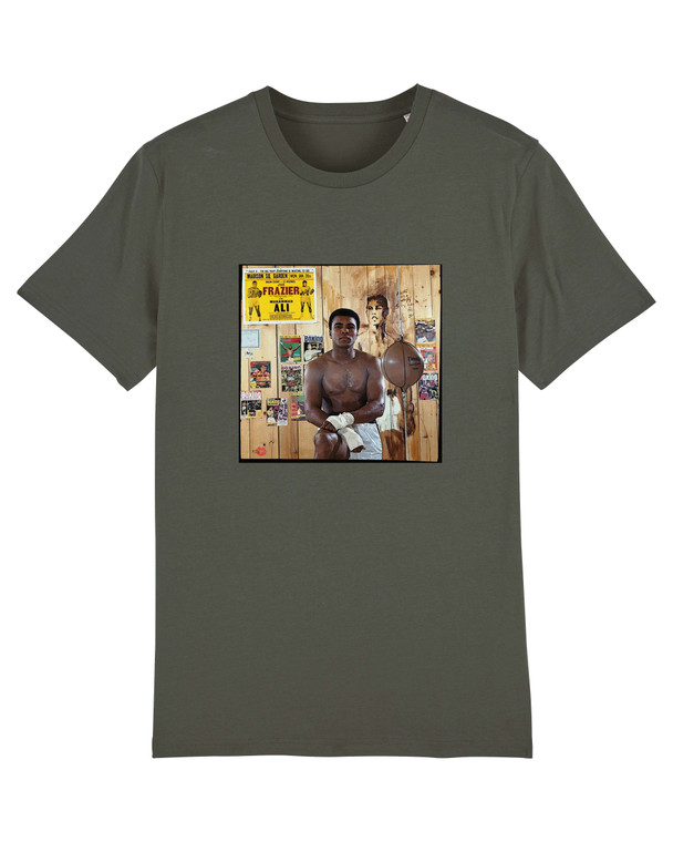 Muhammad Ali KiSS T-Shirt - Cassius Clay - Boxing Inspired Colour - Boxers - Sport Fan Present - fighter