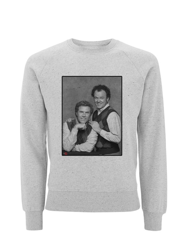 Step Bros KiSS Sweatshirt - Brothers - Movie - Will Ferrell John C Reilly - Funny Shirt - Shark Week