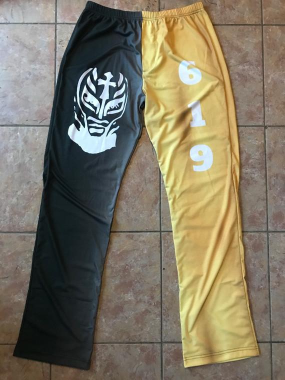 Rey Mysterio Inspired WWE KiSS Pyjama Bottoms - Jersey - Wrestling Wrestler - Gift Idea Present - 619 Mexico