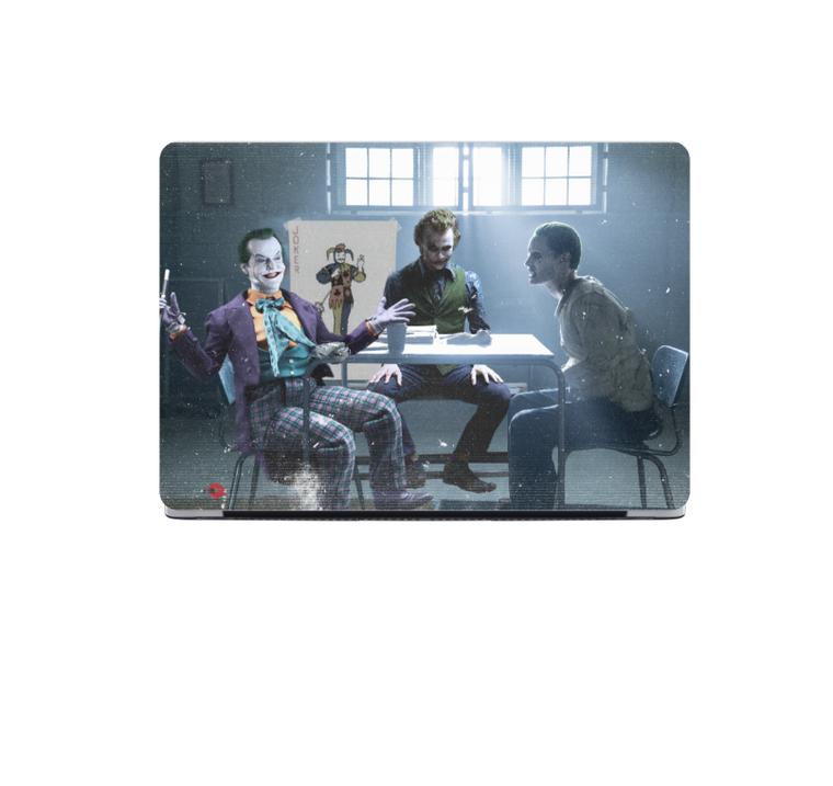 3 Jokers Meeting KiSS MacBook Case - Jack Nicholson, Heath Ledger, Jared Leto - Why so Serious - Batman - Suicide Squad Joker Cards