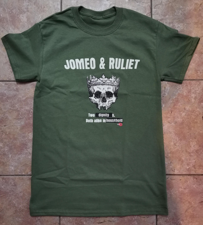 Romeo & Juliet KiSS T-Shirt - Mixed - Skull - Two Households - Movie
