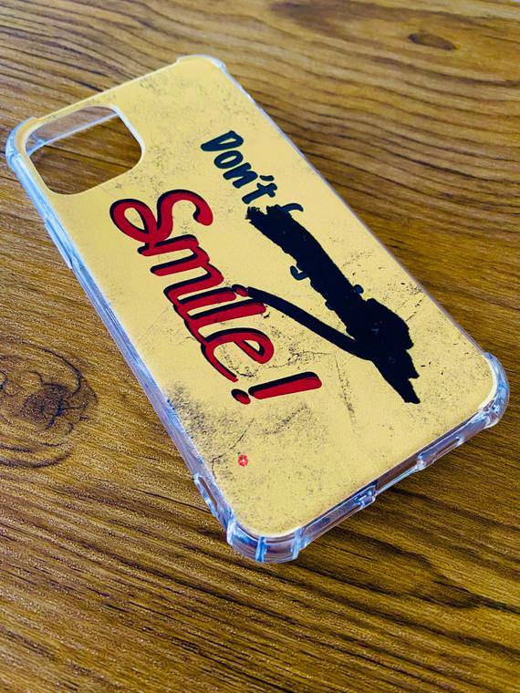 Don't Forget To Smile KiSS Phone Case  - Joker - Joaquin Phoenix - Aluminium Wall Art - Replica Movie Inspired