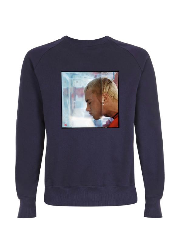 Shady Water KiSS Sweatshirt - Eminem inspired - Slim Shady - Marshall Mathers - Rap God - Music Rapper Skull