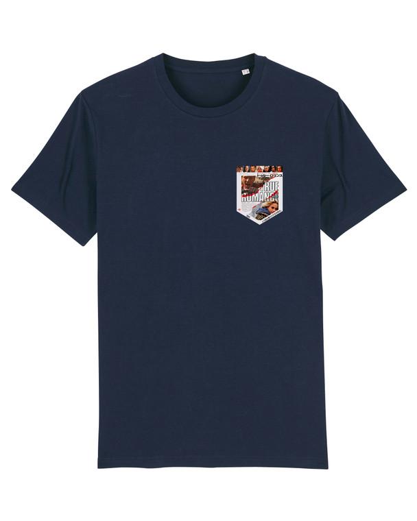True Romance Pocket Style KiSS T-Shirt - Japanese Poster - Movies Film Fan - Patricia Arquette Christian Slater