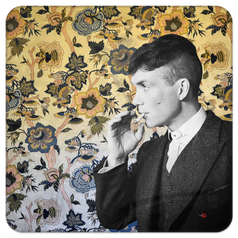 Tommy Shelby inspired KiSS Blanket - Cillian Murphy, TV Show - 30s 20s Wallpaper Peaky Blinders
