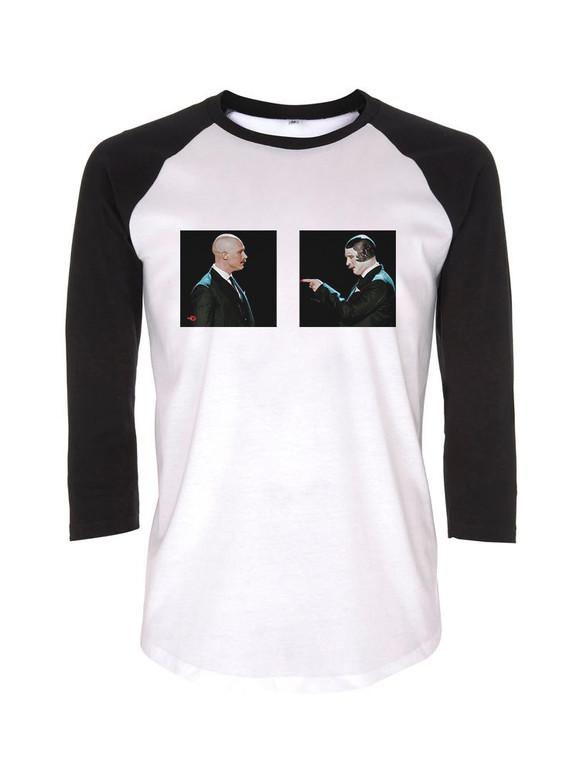 Bronson Two KiSS Baseball T-Shirt - Movie Inspired - Tom Hardy Prison - Gift Idea - Legend