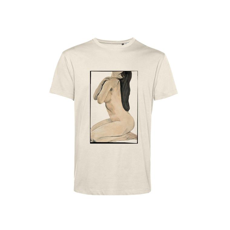 Nude Female KiSS T-Shirt - Original Art - Renaissance  - Painting