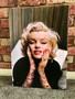 Marilyn Tattooed KiSS Canvas or Poster - Monroe Inked - Tattoo Sleeve - Wall Art - Gorgeous Decor Modern