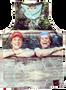 Step Brothers KiSS Basketball Vest - Will Ferrell John C Reilly funny - Gift Movie fan - shark week