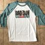 Bad Guy KiSS Baseball T-Shirt - Billie Eilish Inspired - Music When We All Fall Asleep - Xanny - Bury a Friend - Dark Timeline