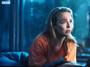 Villanelle Orange Teddy Bear KiSS T-Shirt - Killing Eve Inspired - Jodie Comer Pink Tv Show Quote - British Assassin - Dark Timeline - Season 3 Blue bear