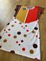 Phoebe KiSS Handmade T-Shirt Dress - Friends Inspired - 70s 80s 90s - Striped Style - Cool Jersey Buffay