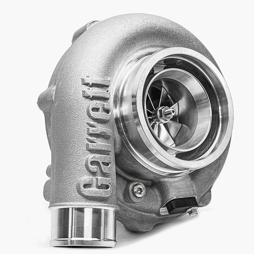 """G35-1050 Supercore, Reverse Rotation Horsepower: 700 - 1050HP Displacement:2.5 - 5.5L  Garrett®G Series Compressor Aerodynamics for maximum HP. Fully machined Speed Sensor and pressure ports. New Turbine Wheel Aero constructed of MAR-M alloy rated 1055ºC. Stainless Steel wastegated and non wastegated turbine housing option capable of 1050°C. Oil restrictor and water fittings included.  Compressor side: TRIM 65 A/R 0.75  Compressor Air Inlet: Hose 4""""  Compressor Air Outlet: Hose 2"""""""