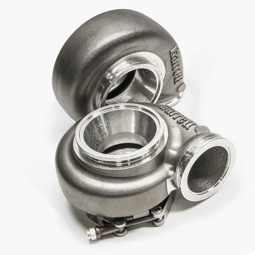Turbine Hsg Kit 1.21 A/R O/V, V-Band In/Out, Stainless Steel turbine housing capable of 1050°C
