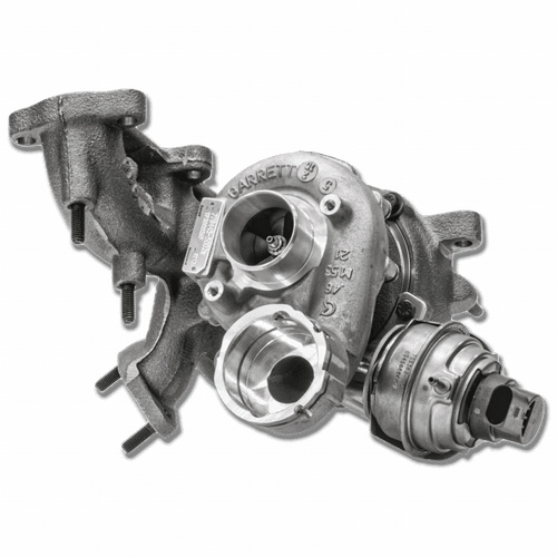 The Garrett® GTA1749V is a performance upgrade / replacement turbocharger available to the Aftermarket for Volkswagen 2.0L TDI BKD/BKP/AZV engines. The GTA1749V comes equipped with a larger compressor wheel for increased flow and bolts directly to the stock engine manifold flange. The turbo is easy to install and suitable as a performance upgrade or replacement turbocharger. The Garrett VW TDI turbo also promotes a longer turbo and engine life span and increased reliability by lowering exhaust gas temperatures. Includes the Latest Technology Tailored to Your Diesel Performance Needs: – Garrett® patented Variable Nozzle Turbine (VNT™) design – GT wheel aerodynamics Replaces Volkswagen OE Part Numbers: 03G 253 010 J & 03G 253 010 J V100