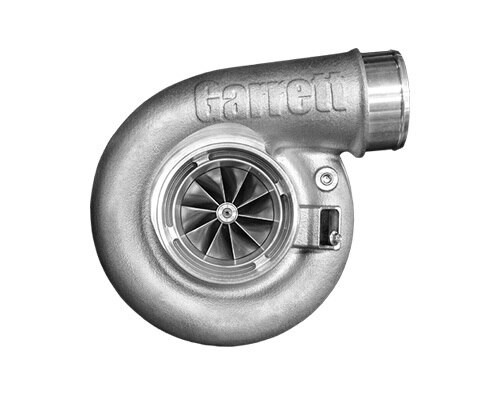 "Garrett G42-1200C Compact Turbo Assembly with Turbine Housing V-Band/V-Band A/R 1.15 Horsepower: 475 - 1200HP Displacement: 2.0 - 7.0L  Garrett® G Series Compressor Aerodynamics (10 blades) for maximum HP. Fully machined Speed Sensor and pressure ports. Turbine Wheel Aero constructed of Inconel super alloy rated 950ºC. Stainless Steel non wastegated turbine housing option capable of 950°C. Oil restrictor and water fittings included.  Compressor side: TRIM 65 A/R 0.90  Compressor Air Inlet: Hose 4""   Compressor Air Outlet: Hose 3""  Turbine side: TRIM 84  A/R 1.15  Turbine Inlet: V-Band 3.6""  Turbine Outlet: V-Band 4.3"""