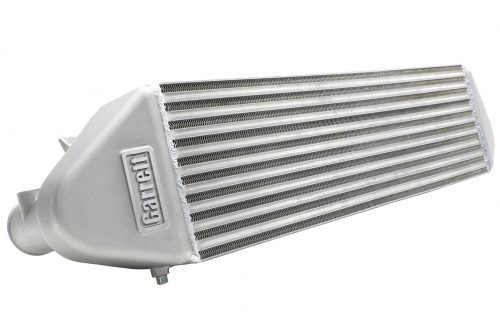 Intercooler Drop-in Ford Focus ST 2.0L 670HP Supports up to 670 HP (499 kW) 115% larger core than stock Installs in stock location Up to 25 HP (19 kW) and 9 lb-ft (12 N-m) of torque Average 11 °F (6.1 °C) reduction in intake temperature based on OBD II data Integrated drain plug to evacuate condensation Cast aluminum end tanks Advanced offset fin design Bar-and-plate construction
