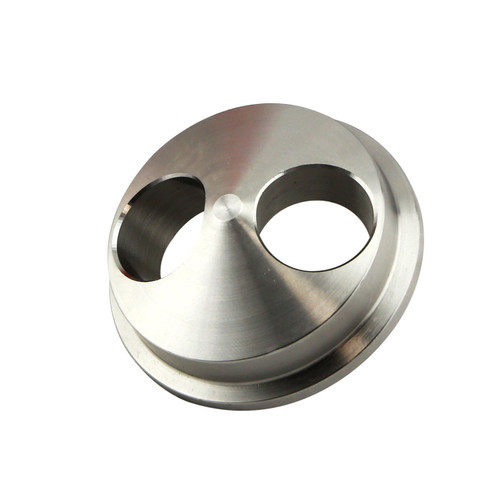Weld Flange Suit Turbosmart ALV40 for 2 Cylinder engines, or Twin Scroll Manifolds.  These Flanges are machined in-house at Turbosmart to facilitate the fitment of the ALV40 to various engine configurations.