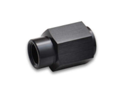 """Vibrant Performance LS Engine Fuel Pressure Adapter Fitting; 4AN Female Flare to 1/8"""" NPT Female"""